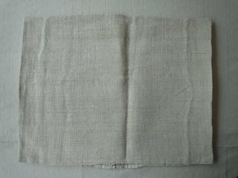 アンティーク  トランシルバニア織物のリネンピロケース gli-0134