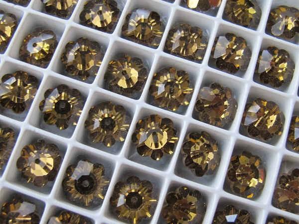 ヴィンテージスワロフスキービーズ クリスタル滴型 15×7.5mm gs-855