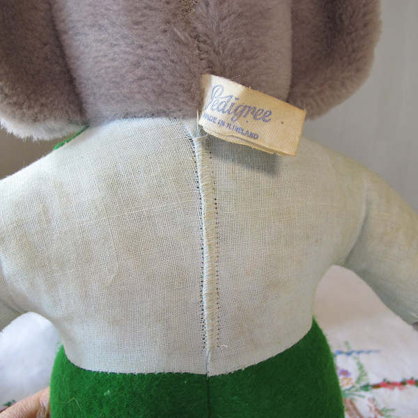 ぺディグリー社 ぞうのババールの縫いぐるみ 1960年代 gt-510