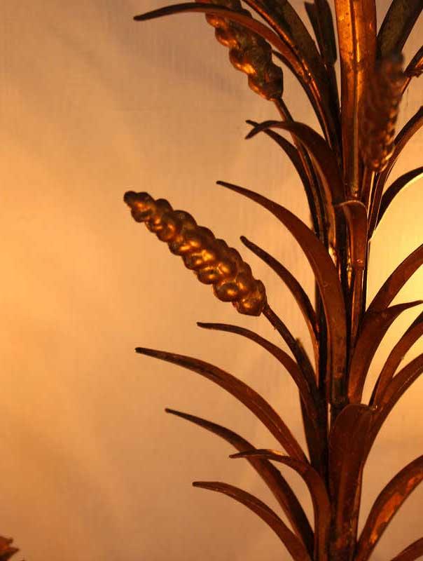 ヴィンテージトールウエアのシャンデリ 麦の穂 gk-365