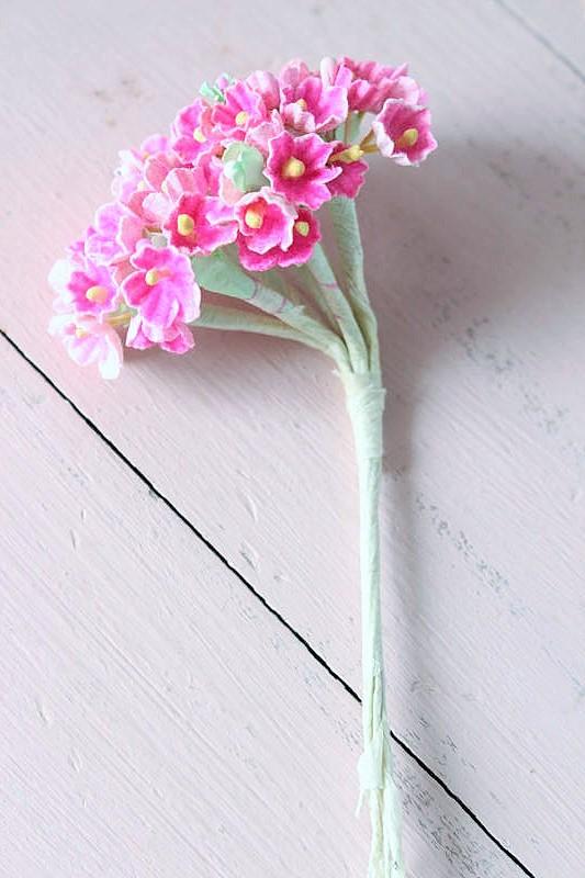 ヴィンテージ造花ペーパーフラワーブーケ ga-430