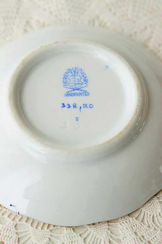 ヘレンドのロスチャイルドバードの小皿 gc-532