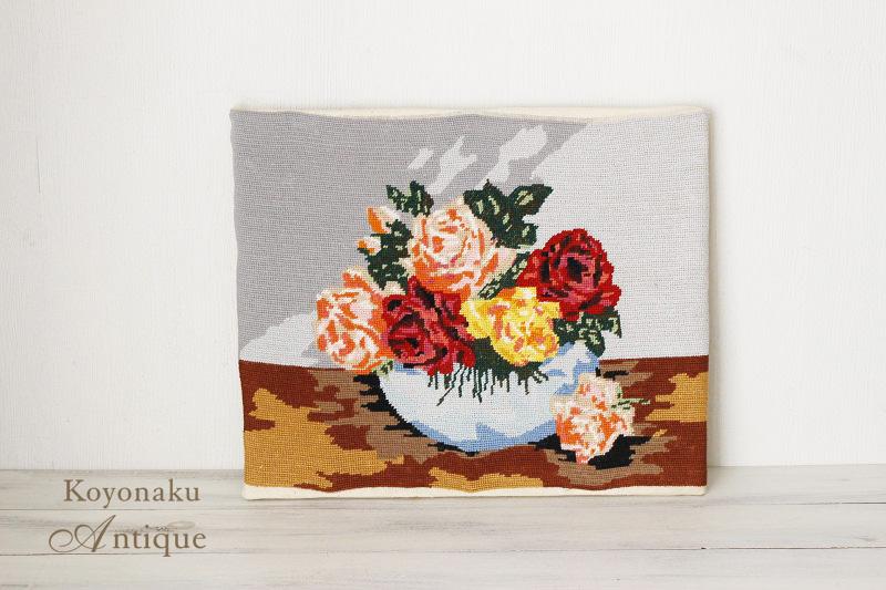 チェコの刺繍ピクチャー 38×50�(刺繍部分) ge-603