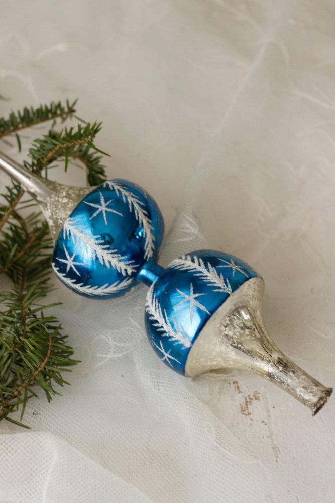 アンティーククリスマスガラスツリートッパー gx-237