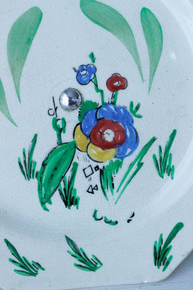 イギリスお花のハンドペイントコンポート gc-622