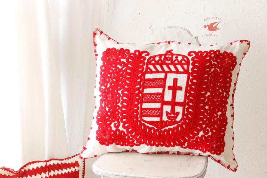 旧ハンガリーのトランシルバニアのイラーショシュ刺繍のクッション ge-696