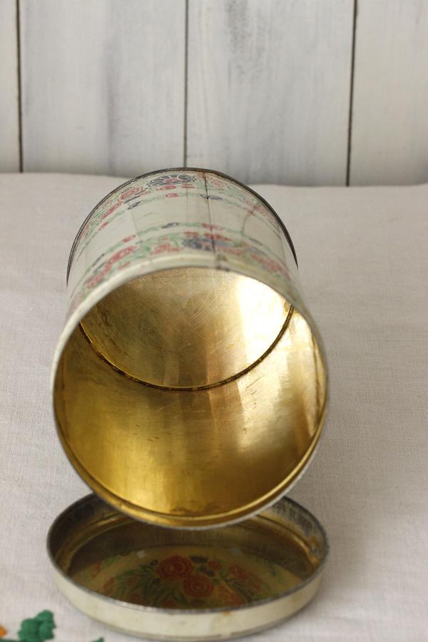 ヴィンテージのハンガリーパプリカティン缶 1950−60年代頃 gk-422