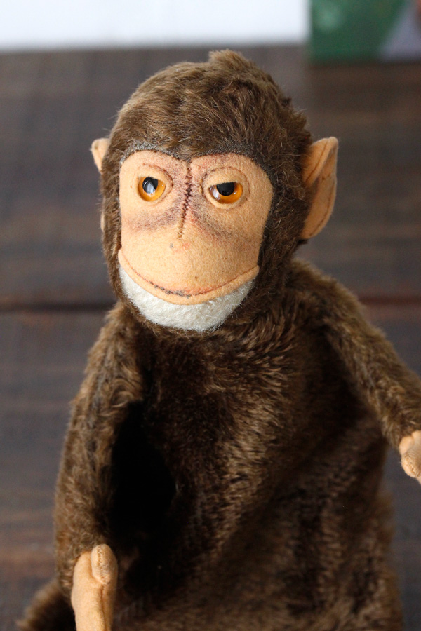 ヴィンテージSteiffパペットJoko monkey1960年頃 gt-687