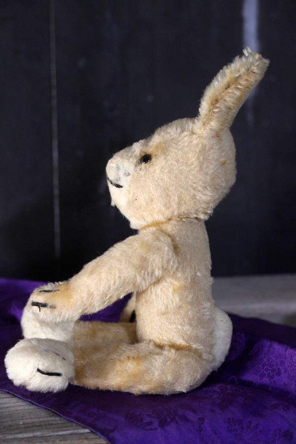 ヴィンテージGresly Rabbit うさぎ32cm 1950-60年代ドイツ gt-700