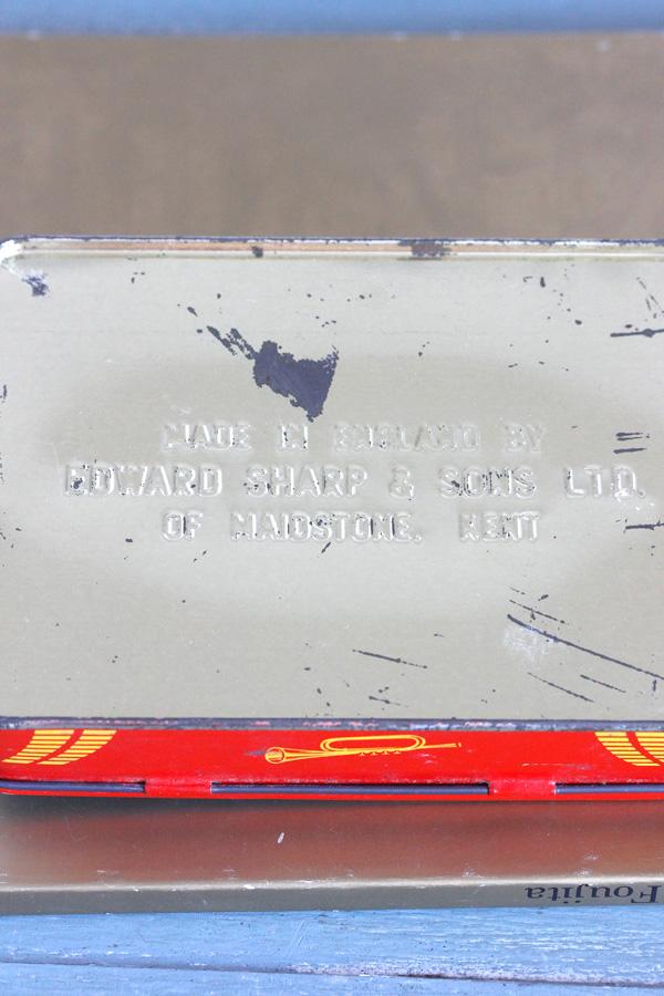 ヴィンテージイギリスのトフィー缶 Edward Sharp&Sons Ltd 1950−60年代 gk-452