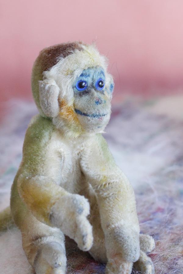 ヴィンテージシュタイフsteiff Monkey Mungo  H14.7cm gt-709