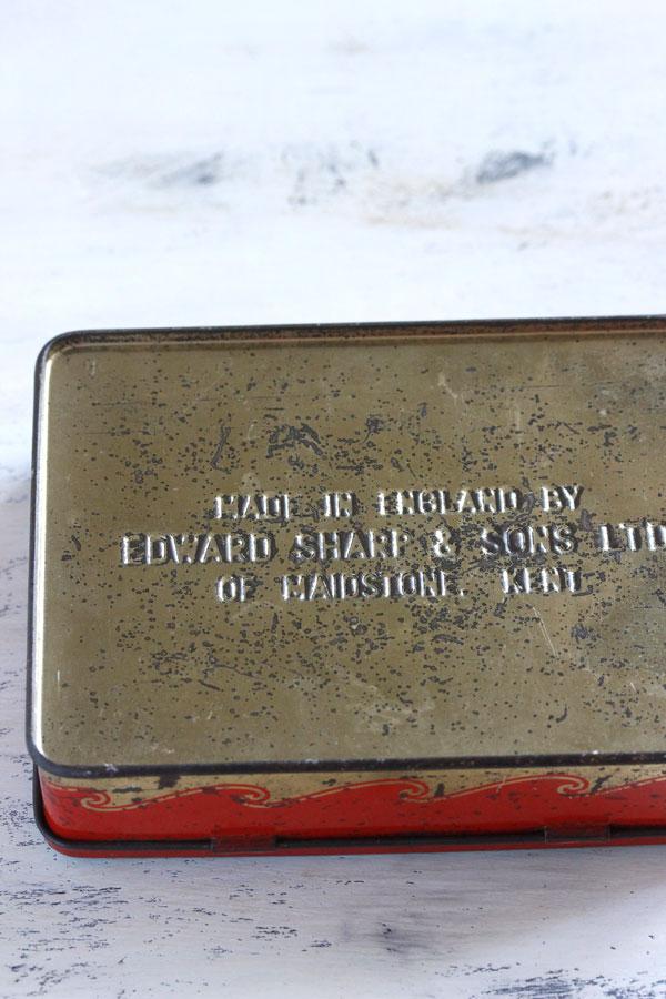 ヴィンテージ イギリスのトフィー缶 ノアの方舟 gk-462