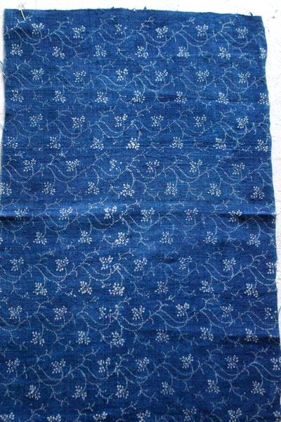 ハンガリー藍染めリネン&フレンチファブリック&ティッキンギリネンセットglu-005
