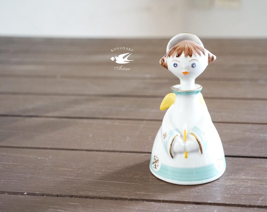 ハンガリーホロハーザフィギュリン可愛い天使8.5cm gt-821