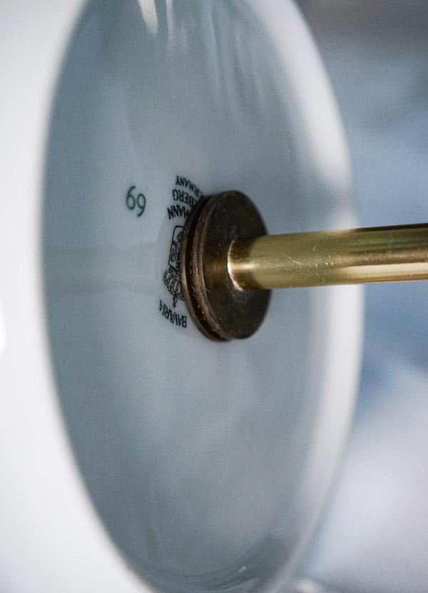 アンティークドイツババリアのSCHUMANNの3段プレート gc-785
