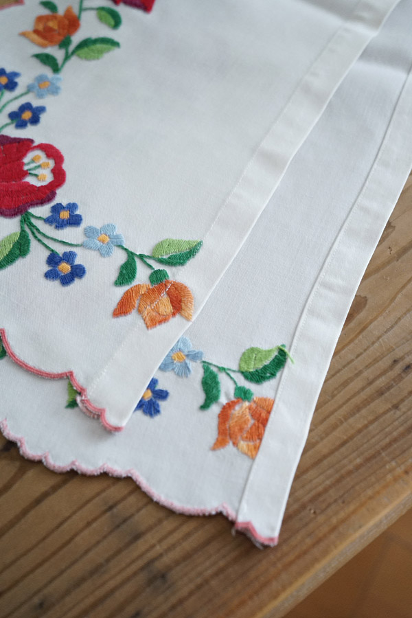 ハンガリーマチョー刺繍の棚飾り115×21cm ge-820