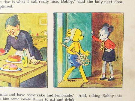 イギリスの絵本「BOBBY BEAR'S」1950年 gh-001